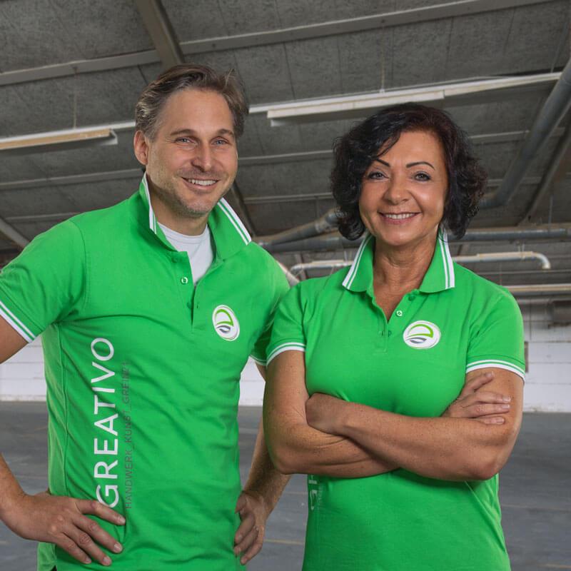 Michael Soschner und Adelheid Aigner